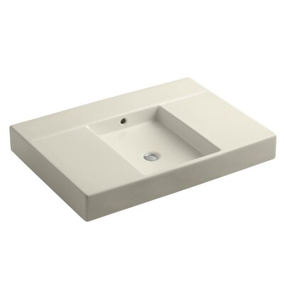 Traverse 31 Single Bathroom Vanity Top Top Finish: Almond
