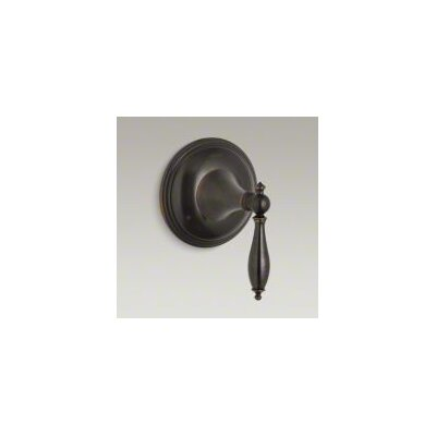 Finial Traditional Valve Trim with Lever Handle for Transfer Valve, Requires Valve Finish: Oil-Rubbed Bronze
