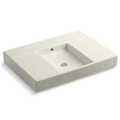 Traverse 31 Single Bathroom Vanity Top Top Finish: Biscuit
