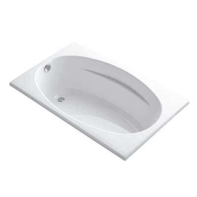R�ve Freestanding Bath with Float Installation and Brilliant Ash Base without Jet Trim