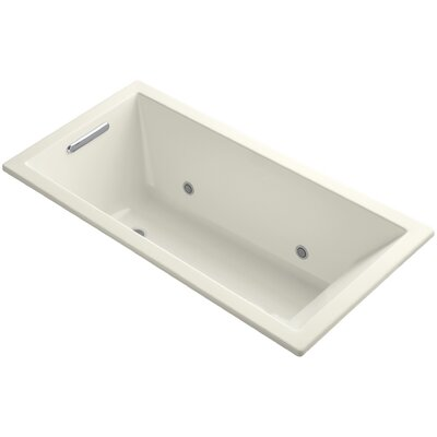 Underscore Vibracoustic 60 x 30 Soaking Bathtub Finish: Biscuit