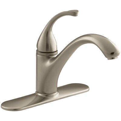 Fort� 3-Hole Kitchen Sink Faucet with 9-1/16 Spout Finish: Vibrant Brushed Bronze