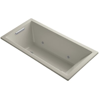 Underscore Vibracoustic 60 x 30 Whirpool Bathtub Finish: Sandbar