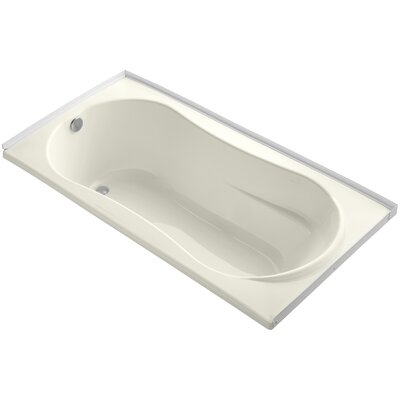 Proflex 72 x 36 Soaking Bathtub Finish: Biscuit