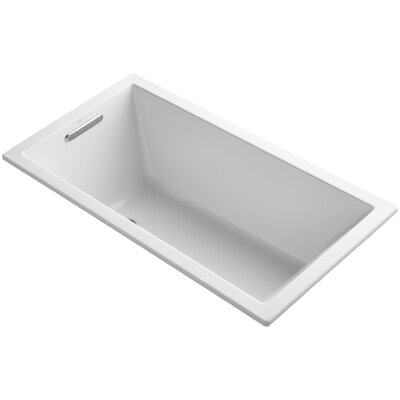Underscore Vibracoustic 60 x 32 Soaking Bathtub Finish: White