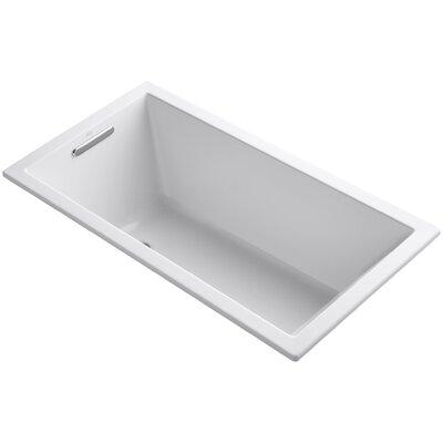 Underscore 60 x 32 Soaking Bathtub Finish: White
