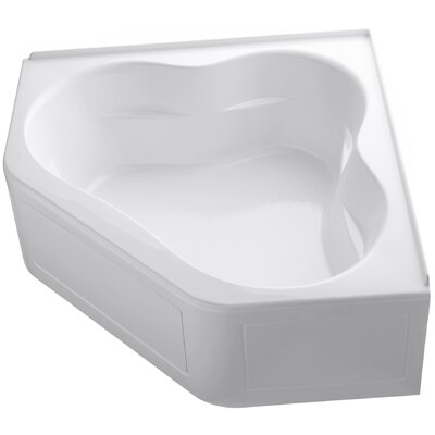 Tercet 60 x 60 Air Bathtub Finish: White