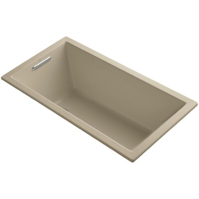 Underscore Vibracoustic 60 x 32 Soaking Bathtub Finish: Mexican Sand