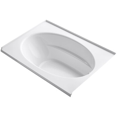 Windward Alcove 60 x 42 Soaking Bathtub Finish: White