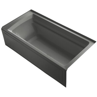 Archer 36 x 19 Bathtub Finish: Thunder Grey