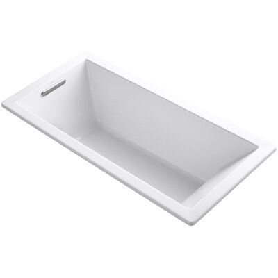 Underscore Vibracoustic 66 x 32 Soaking Bathtub Finish: White
