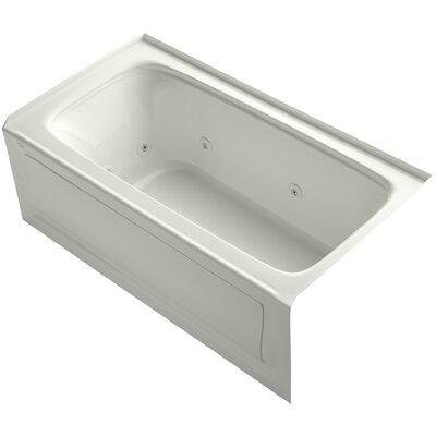 Bancroft Alcove 60 x 32 Whirpool Bathtub Sink Finish: Dune
