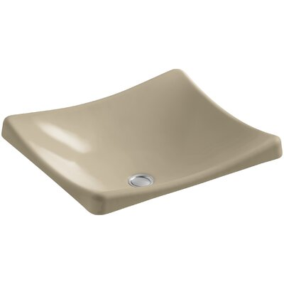 Demilav Wading Pool Specialty Vessel Bathroom Sink Sink Finish: Mexican Sand