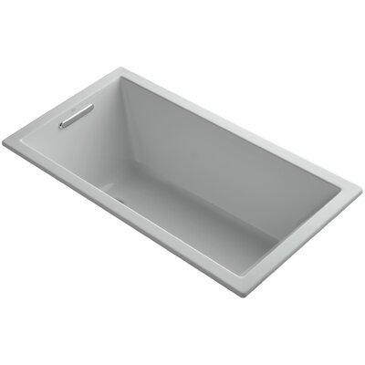 Underscore Vibracoustic 60 x 32 Soaking Bathtub Finish: Ice Grey