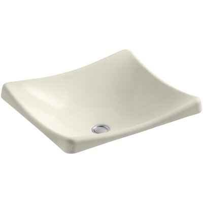 Demilav Wading Pool Specialty Vessel Bathroom Sink Sink Finish: Almond