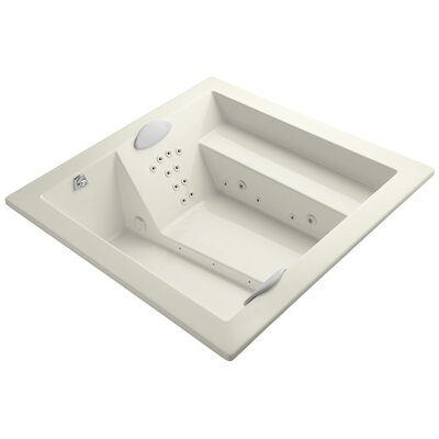 Consonance 72 x 72 Whirlpool Bathtub Finish: Biscuit