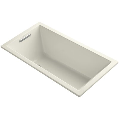 Underscore Vibracoustic 60 x 32 Soaking Bathtub Finish: Biscuit