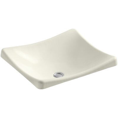 Demilav Wading Pool Specialty Vessel Bathroom Sink Sink Finish: Biscuit