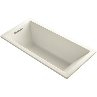 Underscore 66 x 32 Soaking Bathtub Finish: Almond