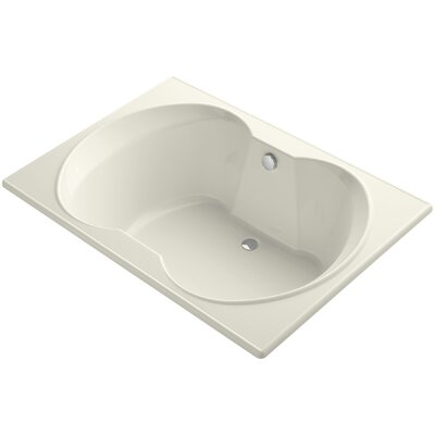 Overture 60 x 42 Soaking Bathtub Finish: Biscuit