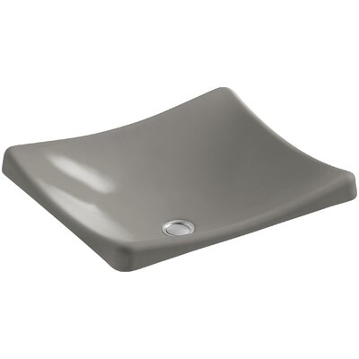 Demilav Wading Pool Specialty Vessel Bathroom Sink Sink Finish: Cashmere