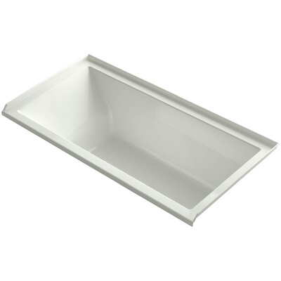 Underscore Alcove Vibracoustic 60 x 30 Soaking Bathtub Finish: Dune