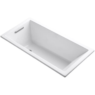 Underscore Vibracoustic 60 x 30 Soaking Bathtub Finish: White
