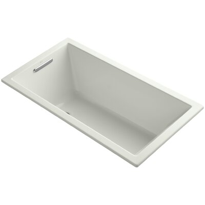 Underscore Vibracoustic 60 x 32 Soaking Bathtub Finish: Dune