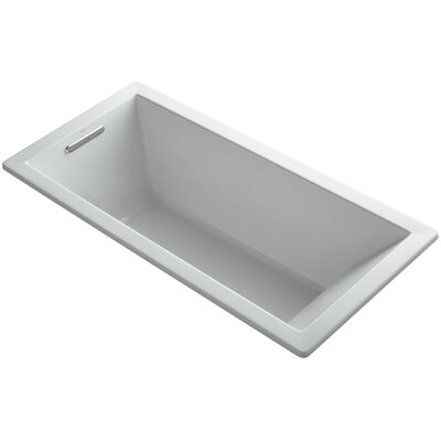 Underscore 66 x 32 Soaking Bathtub Finish: Ice Grey