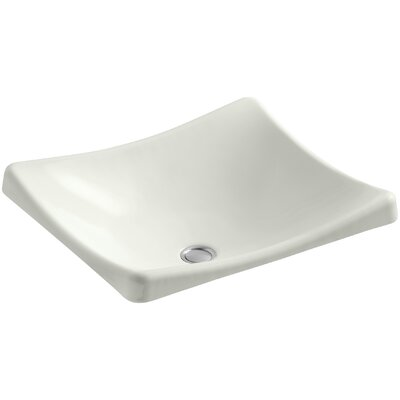 Demilav Wading Pool Specialty Vessel Bathroom Sink Sink Finish: Dune