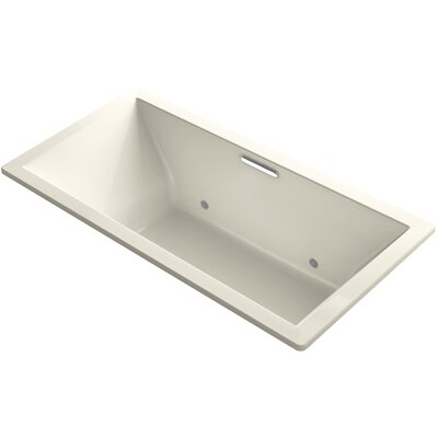 Underscore Vibracoustic 72 x 36 Whirpool Bathtub Finish: Almond