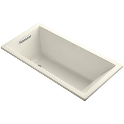 Underscore Vibracoustic 60 x 30 Soaking Bathtub Finish: Almond