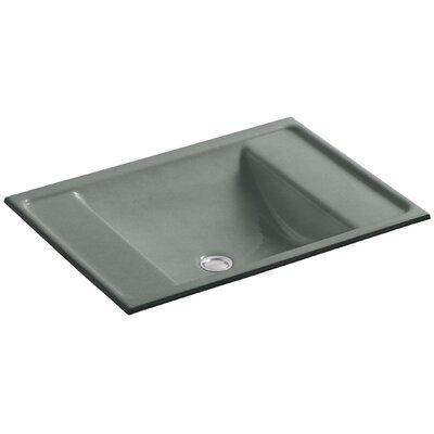 Ledges Rectangular Undermount Bathroom Sink Sink Finish: Basalt