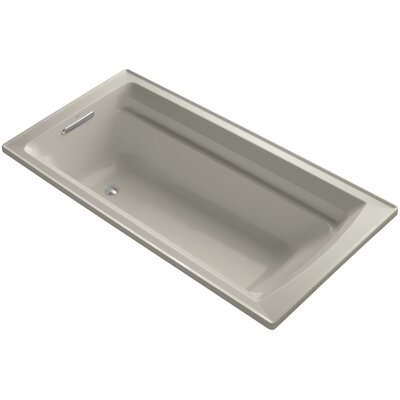 Archer 72 x 36 Soaking Bathtub Finish: Sandbar