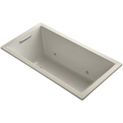 Underscore Vibracoustic 60 x 32 Whirpool Bathtub Finish: Sandbar