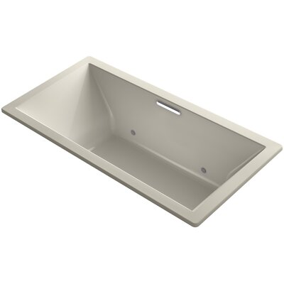 Underscore Vibracoustic 72 x 36 Whirpool Bathtub Finish: Sandbar