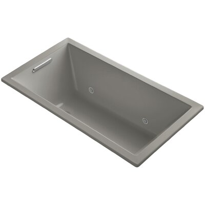 Underscore Vibracoustic 60 x 32 Whirpool Bathtub Finish: Cashmere