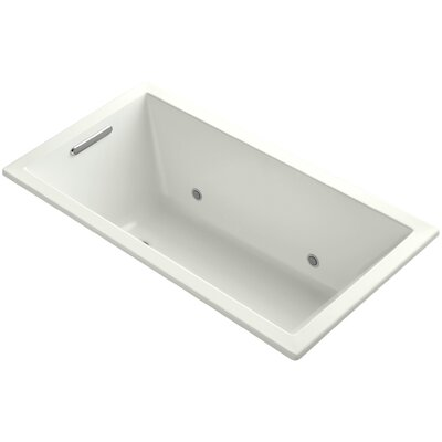 Underscore Vibracoustic 60 x 32 Whirpool Bathtub Finish: Thunder Grey