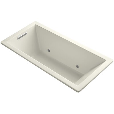 Underscore Vibracoustic 66 x 32 Whirpool Bathtub Finish: Biscuit