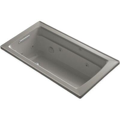 Archer 60 x 32 Whirlpool Bathtub Finish: Cashmere