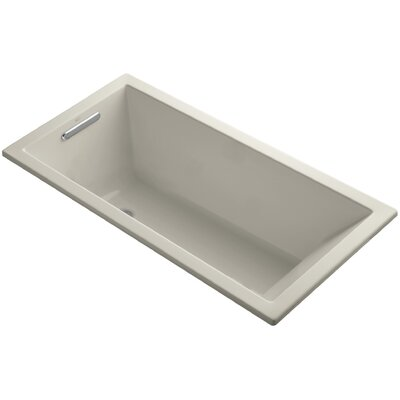 Underscore Vibracoustic 60 x 30 Soaking Bathtub Finish: Sandbar