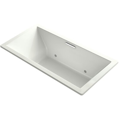 Underscore Vibracoustic 72 x 36 Whirpool Bathtub Finish: Dune