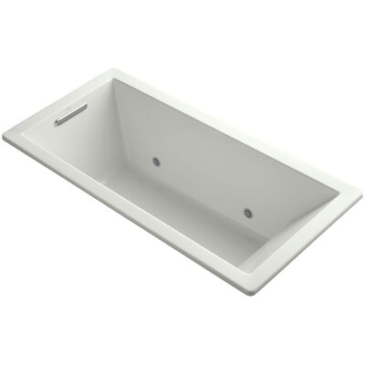 Underscore Vibracoustic 66 x 32 Whirpool Bathtub Finish: Dune
