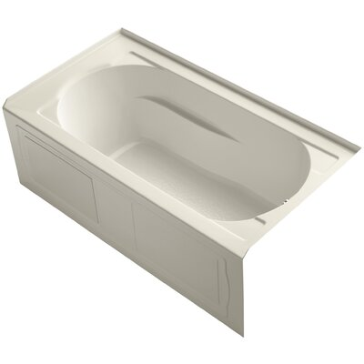 Devonshire Alcove 60 x 32 Soaking Bathtub Finish: Almond