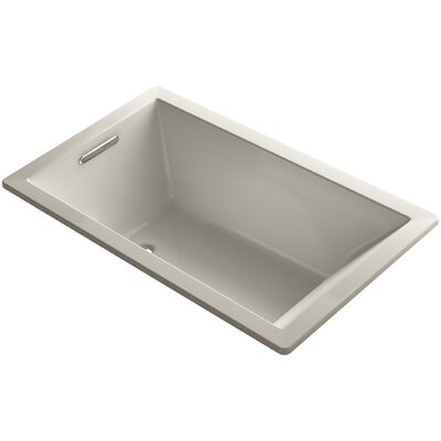 Underscore 60 x 36 Soaking Bathtub Finish: Sandbar