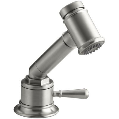Hiriseindependent Sidespray with Valve Finish: Brushed Stainless