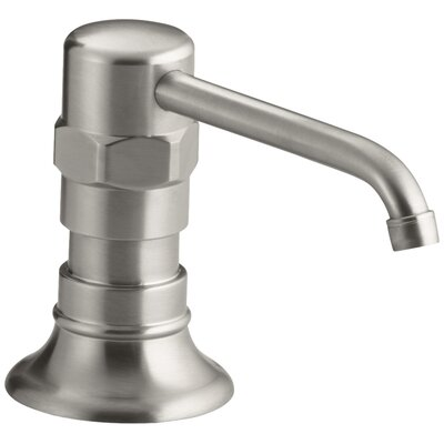 Hirisestainless Soap/Lotion Dispenser Finish: Brushed Stainless