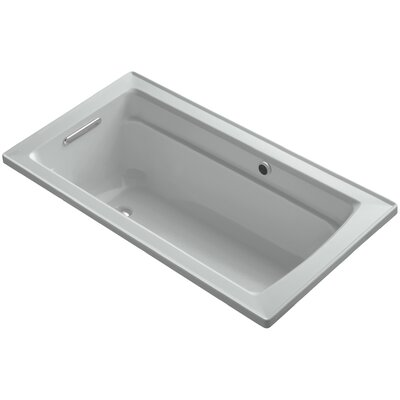 Archer 60 x 32 Soaking Bathtub Finish: Ice Grey