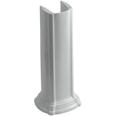 Portrait Bathroom Sink Pedestal Finish: Ice Grey