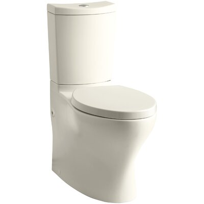 Persuade Comfort Height 2 Piece 1.6 GPF Elongated Toilet Finish: Almond
